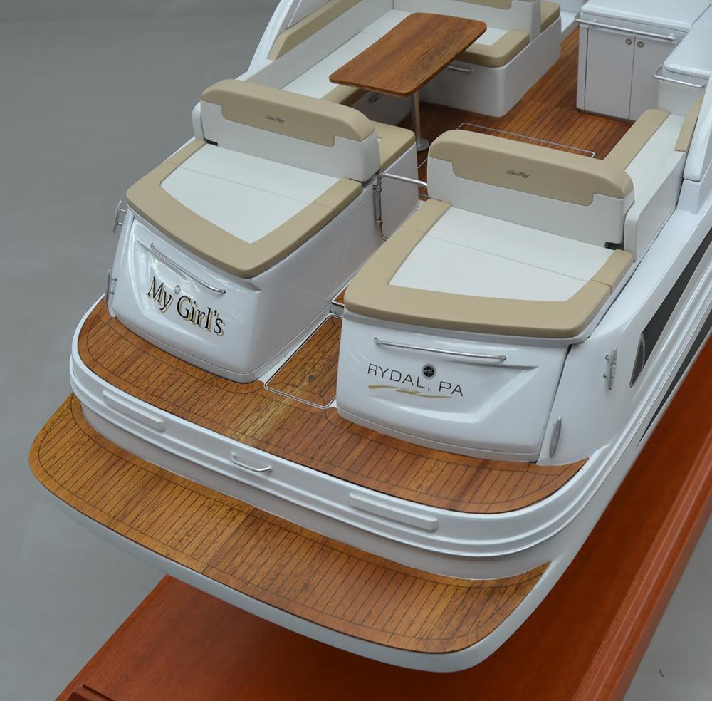 SD Model Makers > Custom Power & Sail Boat Models > Sea Ray