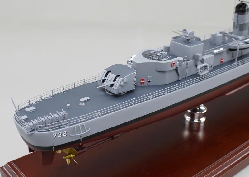 Allen M  Sumner Class Destroyer Models
