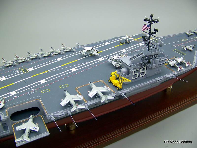 Forestal Class Aircraft Carrier Models