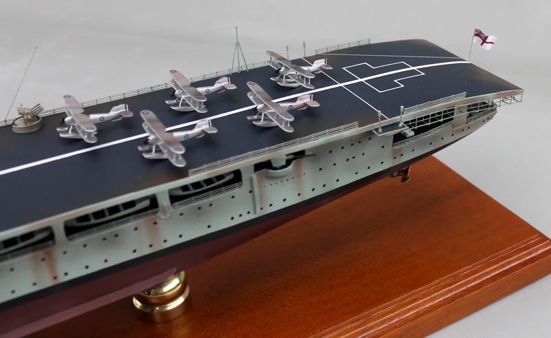 HMS Hermes Aircraft Carrier Models