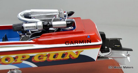 SD Model Makers > Custom Power Boat Models > Connelly 21' Racing