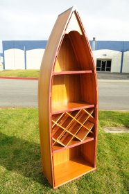 Canoe Wine Shelf