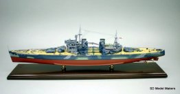 King George V Class Battleship Models