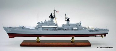 Belknap Class Guided Missile Cruiser Models