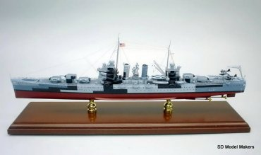 Brooklyn Class Light Cruiser Models