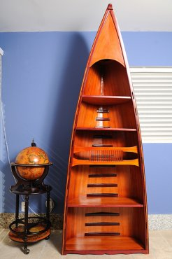 Canoe Book Shelf