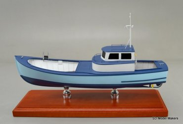 Gillnetting Boat - 18 Inch Model