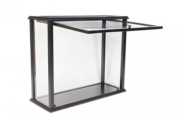Preassembled Table Top Display Case Medium Front Opening