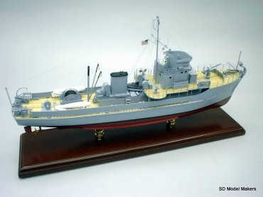Yard Class Minesweeper (YMS) Models