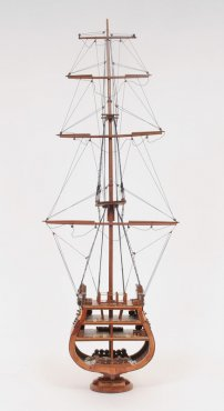 USS Constitution Cross Section Model - In Stock