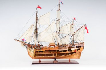 HMS Endeavour Open Hull - In Stock