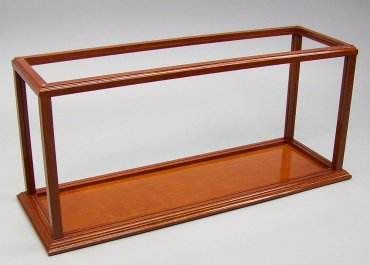 Mahogany Framed Display Cases