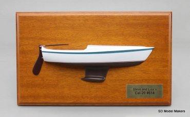 SD Model Makers > Custom Power & Sail Boat Models > Half Hull Models