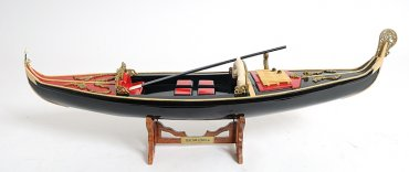 Venetian Gondola - In Stock