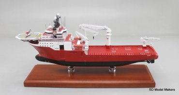 Dive Support Vessel (Sub Sea) - 18 inch model