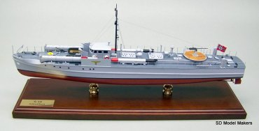 German Schnellboot Models