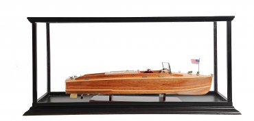 Display Case with Chris Craft Runabout - Limited Time Savings