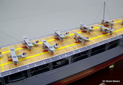 Langley Class Aircraft Carrier Models
