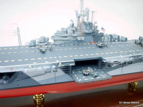 Essex Class Aircraft Carrier Models