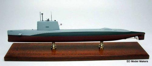 Triton Class Submarine Models