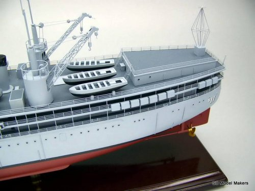 Submarine Tender (AS) Models