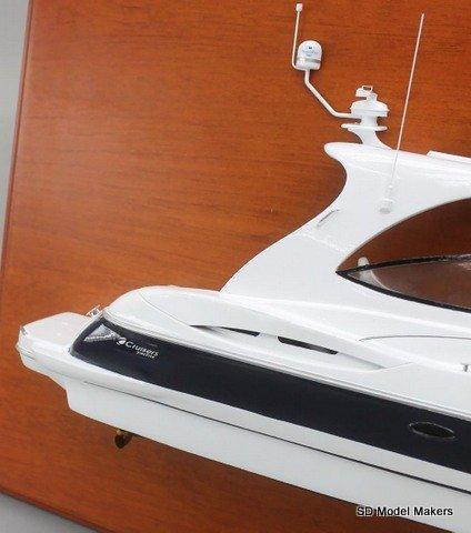 Sd Model Makers Half Hull Models Cruisers Yachts 440 Express
