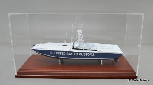 "US Customs Aronow ""Blue Thunder"" 18 Inch Model"