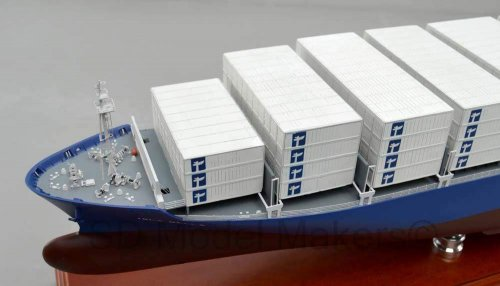 Cutaway Container Ship- 46 Inch Model