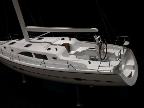 "In Stock Sale Item - 14"" Catalina 34 Sailboat - Save $"